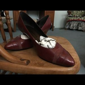 Vintage Connie shoes Leather upper made in Brazil